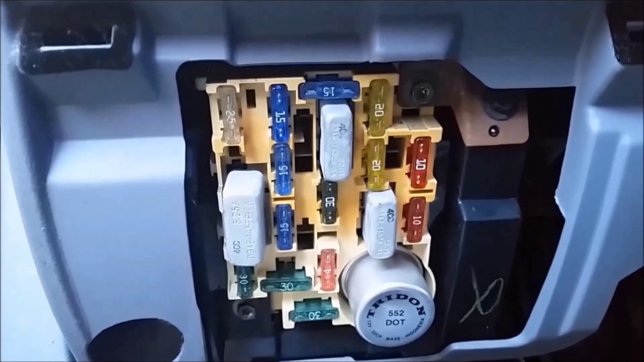 Diagnose Cruise Control Failure On A 1993 Ford F 150 Youtube 1994 E Fuse Box Diagram
