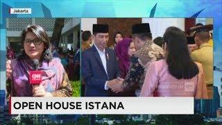 Presiden Jokowi Terima Warga, Open House Istana - Idul Fitri 2017