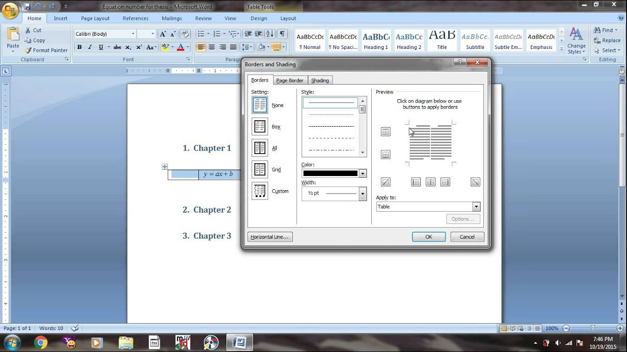 page setup for thesis writing Thesis examination will be click on the arrow on the right hand side of bottom area labelled 'page setup this will leave you a wide left margin so the.