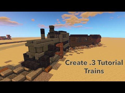 Create .3 Tutorial Episode 2: Trains!