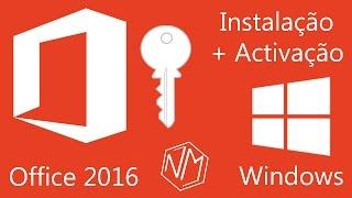 Instalação e Activação Office 2016 (MUITO FÁCIL) (Windows) [PT-PT]