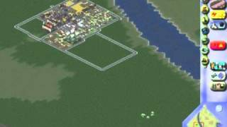 Sim City 3000 gameplay pc Building a city from the beginning part 1