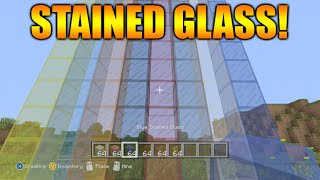 ★Minecraft Xbox 360 + PS3: TU25 Update NEW Stained Glass Types + Manual Crafting Guides★