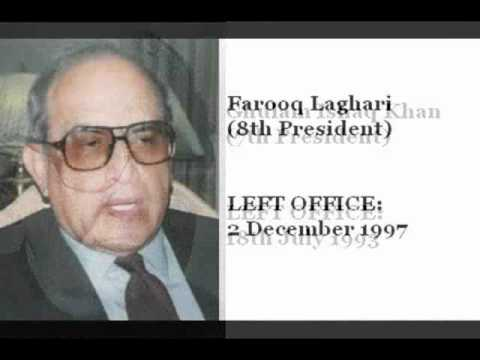 All Pakistani Presidents list