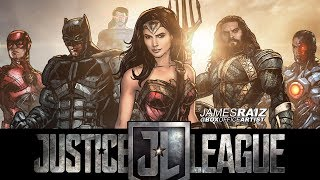 DRAWING THE JUSTICE LEAGUE in FULL COLOR! - THE DRAWN TRAILER