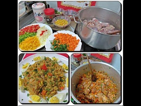🍲Vlog Galinhada Completa Para o Jantar com Déby & Ian👧👦