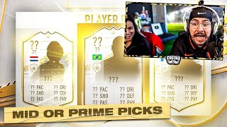 PRIME ICON PLAYER PICK PACKS!! FIFA 21