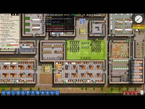 Prison Architect Interested/Qualified Prisoners Tutorial