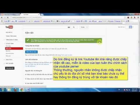 Hướng dẫn đăng ký tài khoản Google Adsense thành công