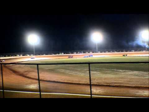 12 year old jordan fowler golden isles speedway 440  video 3-7-15