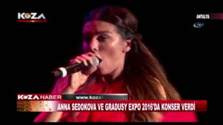 ANNE SEDOKOVA VE GRADUSY EXPO 2016