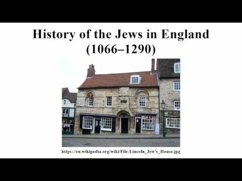 History of the Jews in England (1066–1290)