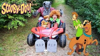 WEREWOLF in the HAUNTED Woods Adventures with Cartoon Network Scooby Doo and Shaggy YOUTUBE Kids