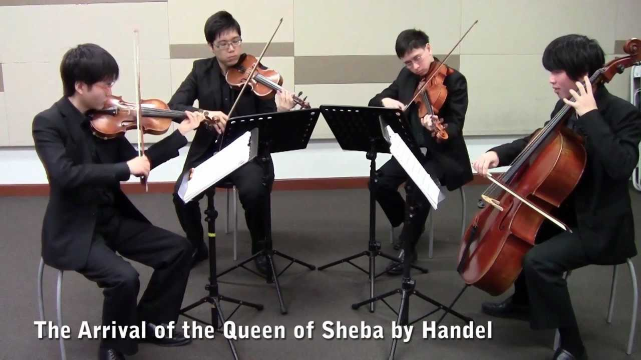 The Arrival of the Queen of Sheba (Singapore String ...