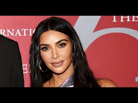 Kim Kardashian Gives Fans a Peek Inside Her Kitchen and Fridge While Rocking Skims
