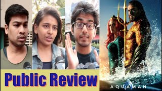 Aquaman Movie Review in India   Aquaman Public Review   Jason Momoa   Jinnions