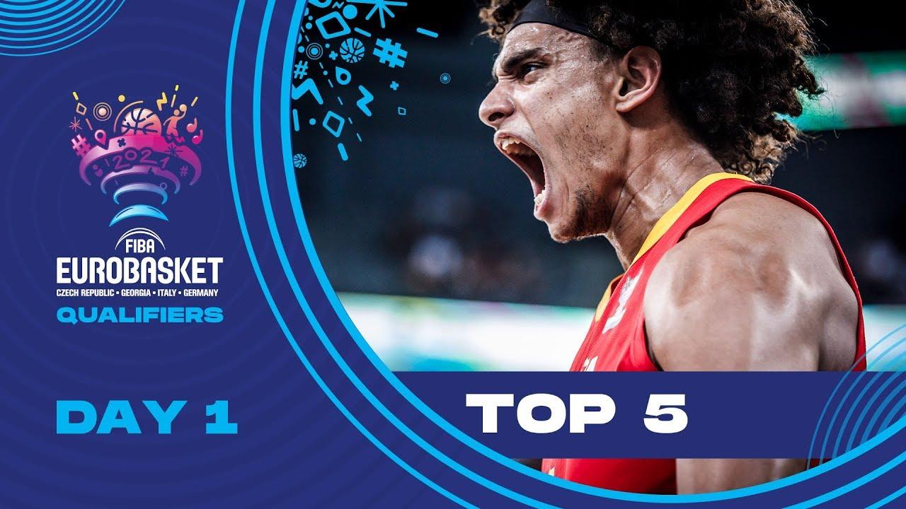 Nike Top 5 Plays | Game Day 1 (Thursday) | FIBA EuroBasket 2022