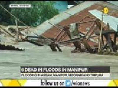 Severe floods affect North East India: 12000 houses damaged; 15000 people moved to relief camps