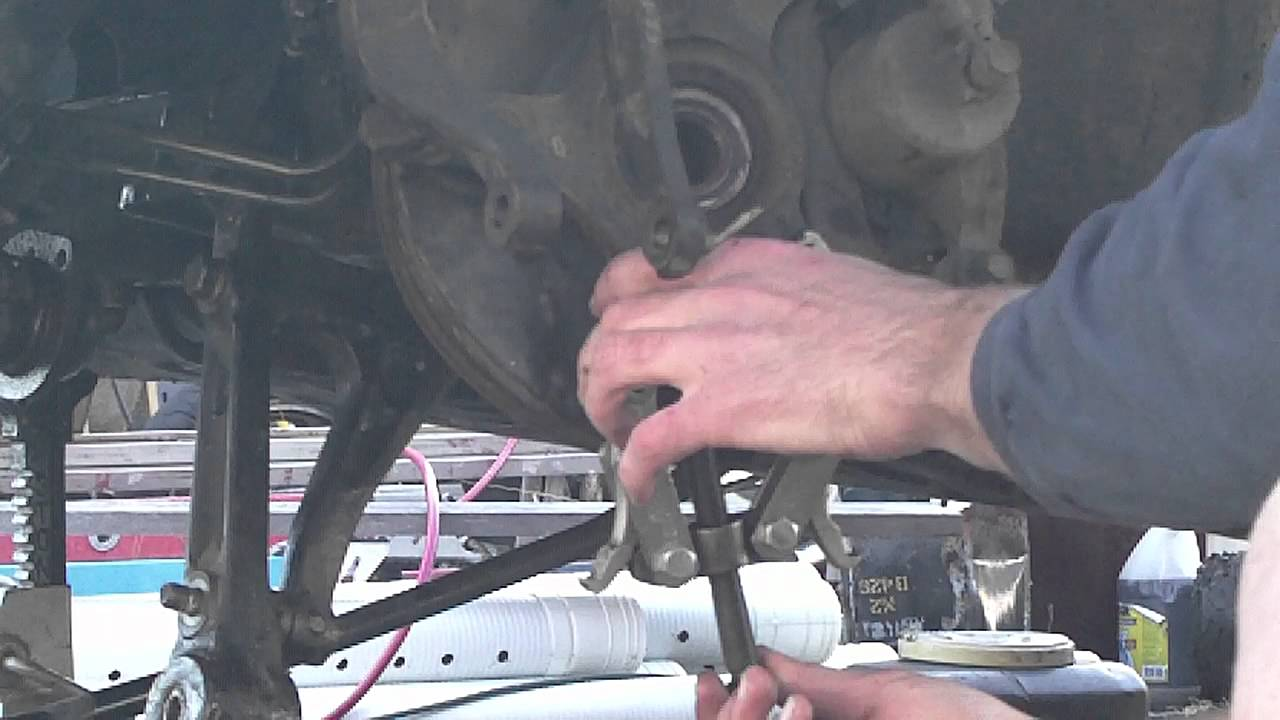 Lower ball joint removal  YouTube