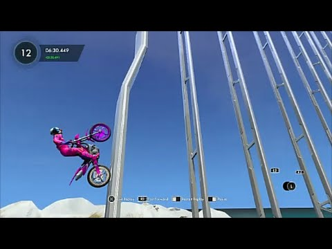 "Trials Fusion Custom Ninja Track ""Rebrief's Skill Climb FX""【PS4】"