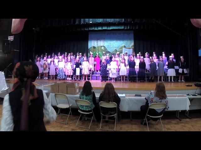 YTCTE 1st Grade Girls Chumash Play