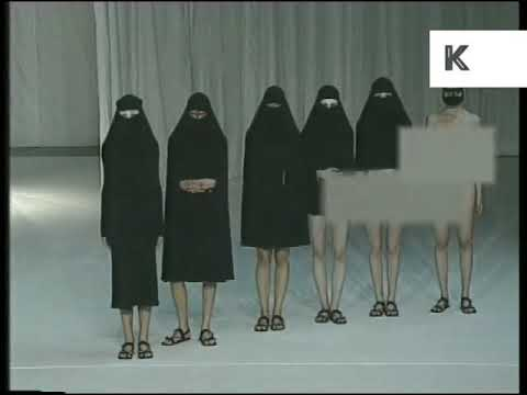 1997 LFW Hussein Chalayan Show and Vox Pop, Archive Footage