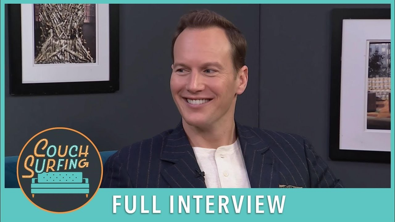 Patrick Wilson Takes A Look Back At 'Aquaman,' 'Fargo' & More (FULL)