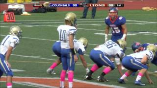 Colonials Football @ NS Week 5 10/8/16