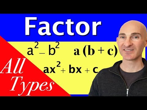 Learn How to Factor
