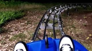 Attitash Mountain Coaster (testing the brakes lol)