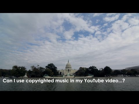 Can I use copyrighted music on my youtube video?