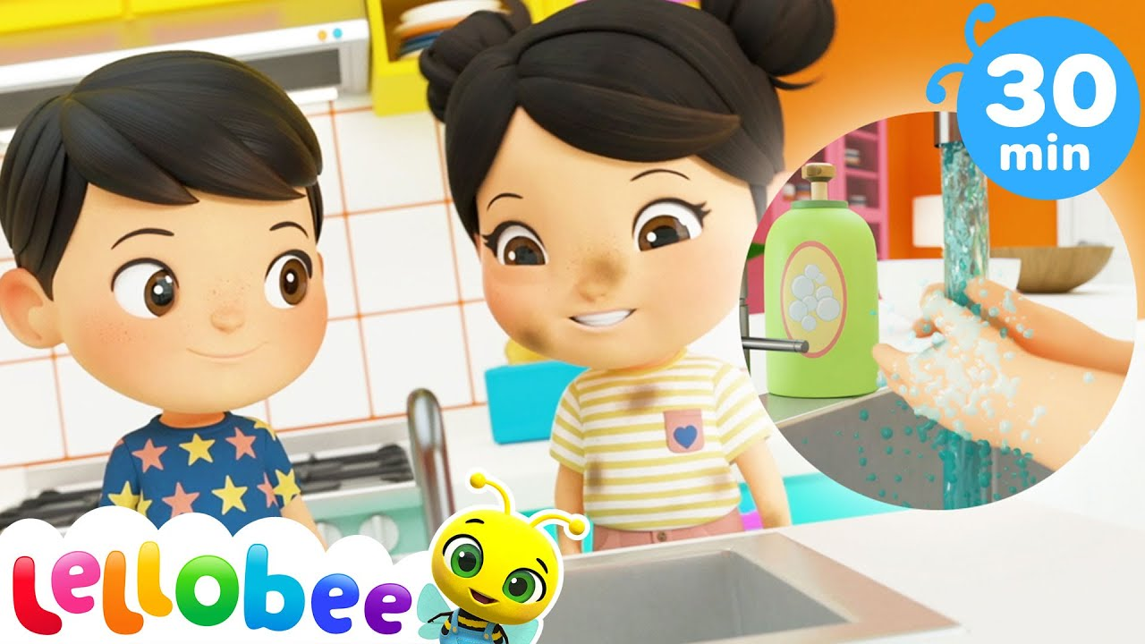 Wash Your Hands Before You Sleep + More Lullabies | Nap Time Songs For Kids | Little Baby Bum
