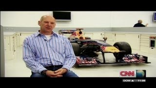 How does Red Bull design their F1 cars?