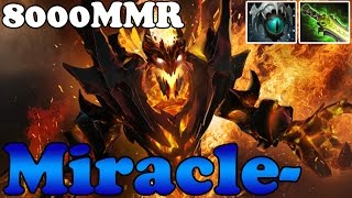 Dota 2 - Miracle- 8000MMR Plays Shadow Fiend vol 13 - Ranked Match Gameplay