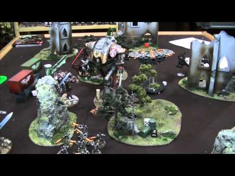 TBMC - HD Video Batrep - 1500 Necrons vs Grey Knights