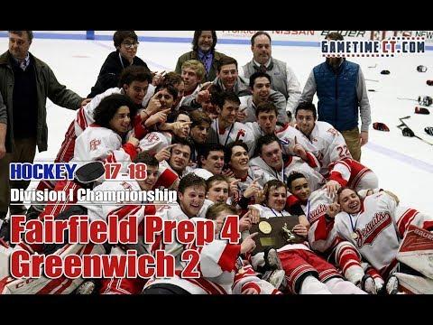Fairfield Prep vs. Greenwich in Division I hockey championship