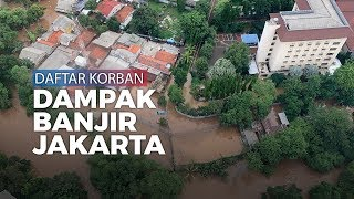 Banjir Melanda Wilayah Jakarta dan Sekitarnya, Berikut Daftar Korbannya