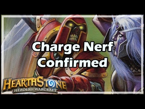 [Hearthstone] Charge Nerf Confirmed