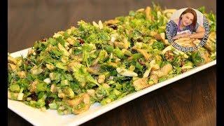 Салат из Грибов с Зеленью. Настоящая Витаминная Бомба.