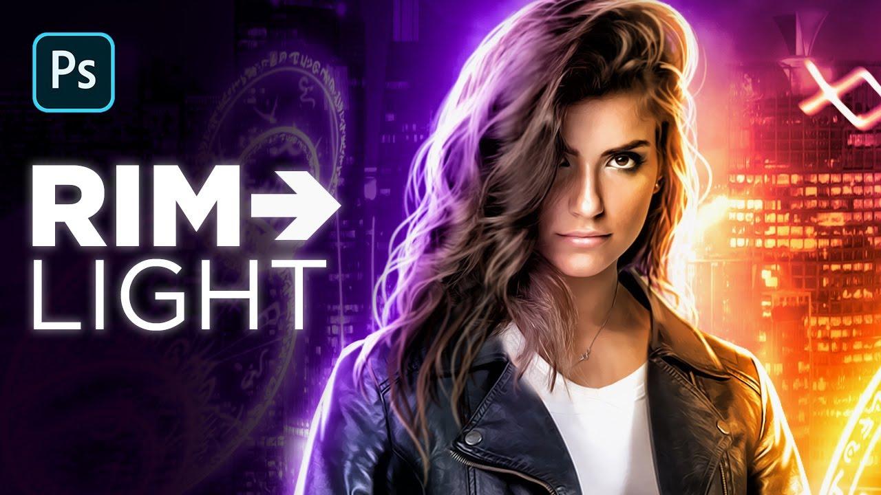 EPIC Fantasy Rim Light Effect – Photoshop Tutorial