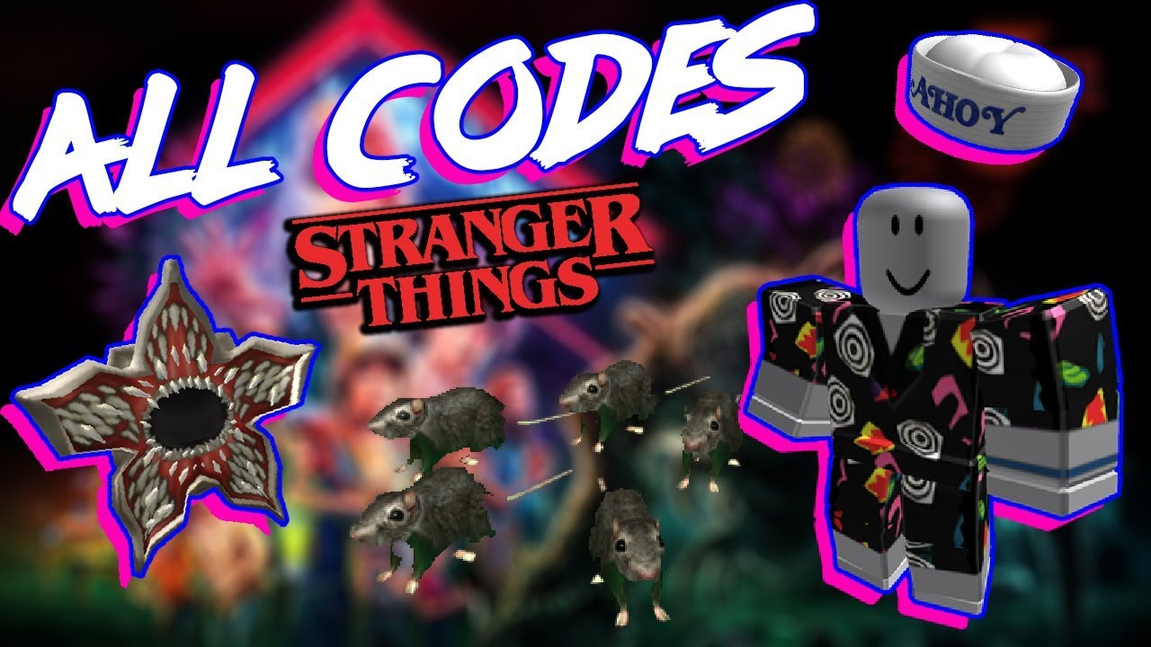 Roblox Promo Codes Stranger Things 3 All Stranger Things 3 Codes Revealed Roblox Free Event Codes Youtube