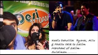 Salim Merchant Interview with Radio Dehotties