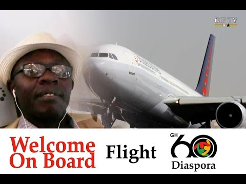 Welcome on board Flight Ghana@60 - Meet Ghanaians going home for Independence
