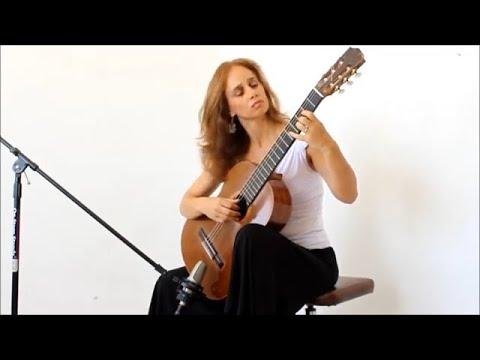 Vals Op.8 No. 3 by Agustin Barrios Mangore / Nirit Ziv-Wexler/ guitar