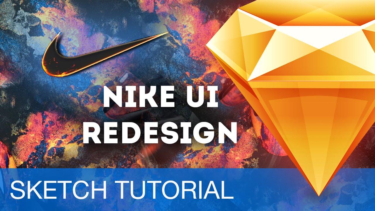 Sketch 3 Tutorial • Nike Store UI Redesign • Sketchapp Tutorial & Design Workflow - YouTube