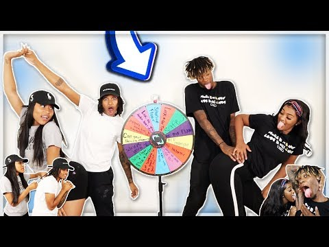 EXTREME SPIN The MYSTERY WHEEL Challenge Ft. NIQUE AND KING!!! (1 SPIN = 1 DARE)