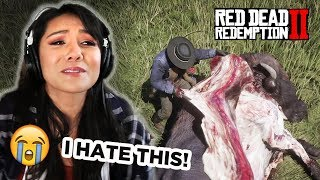 Making my wife play RED DEAD REDEMPTION 2  | #STIKKISHOW