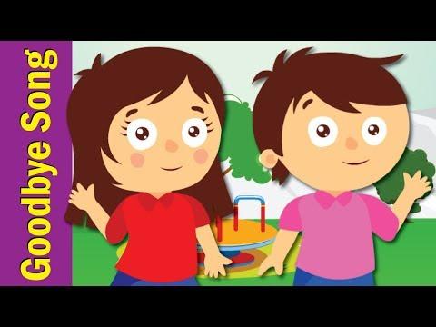 Goodbye Song for Kids | Kindergarten, Preschool & ESL | Fun Kids English