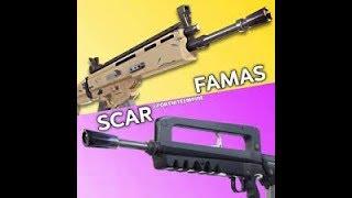 SCAR O FAMAS? - Fortnite - Epic Clip Battle Royale #42