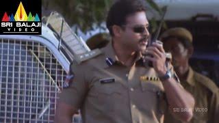 Gharshana Movie Venkatesh Introduction Scene   Venkatesh, Asin   Sri Balaji Video